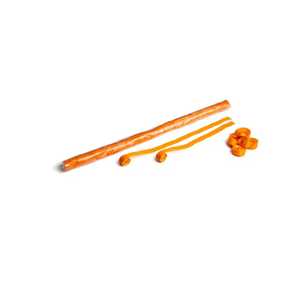 Luftschlangen/Streamer Orange, 15mm, 10m