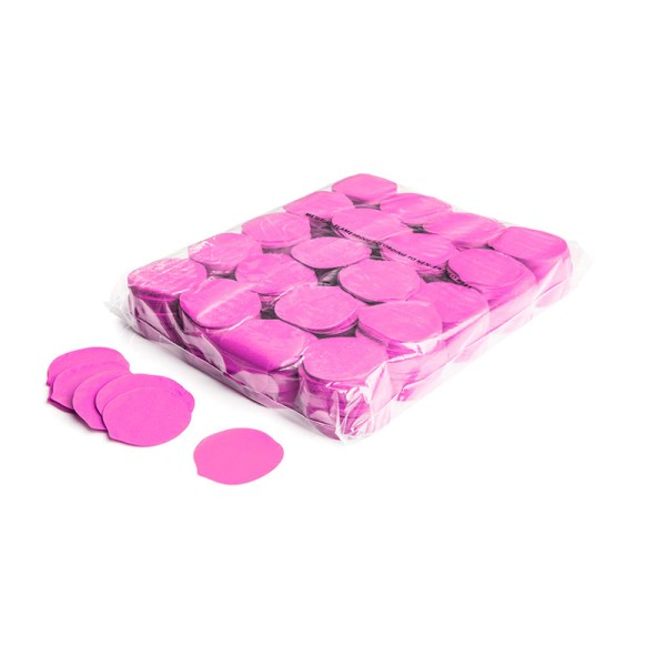 »slowfall« Konfetti Pinke Rosenblätter, Ø 55mm, 1kg