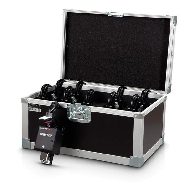 MAGIC FX, POWER DROP SET (Incl. 10 Curtain Clamps + Case)