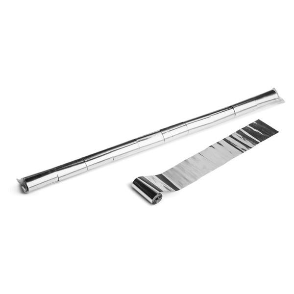 Luftschlangen/Streamer Silber (metallic), 50mm, 10m