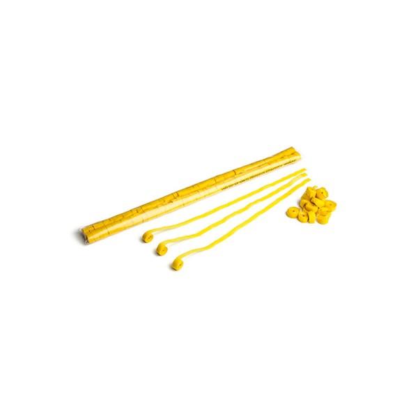 Luftschlangen/Streamer Gelb, 8,5mm, 5m