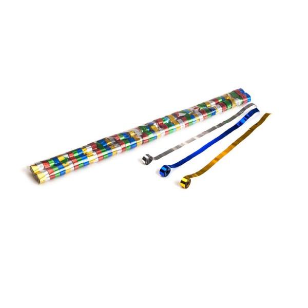 Luftschlangen/Streamer Multicolor (metallic), 8,5mm, 5m