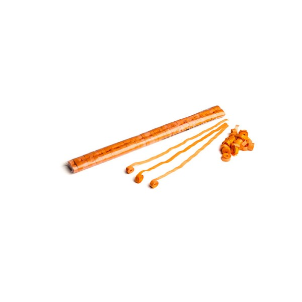 Luftschlangen/Streamer Orange, 8,5mm, 5m