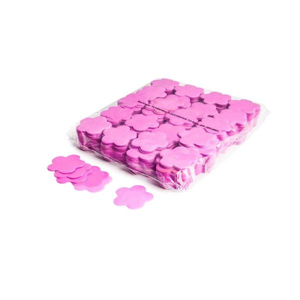 »slowfall« Konfetti Pink, Blume Ø 55mm, 1kg