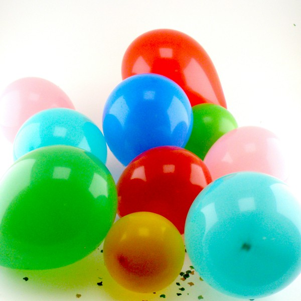 500 Luftballons, bunt - 50x 10er Beutel