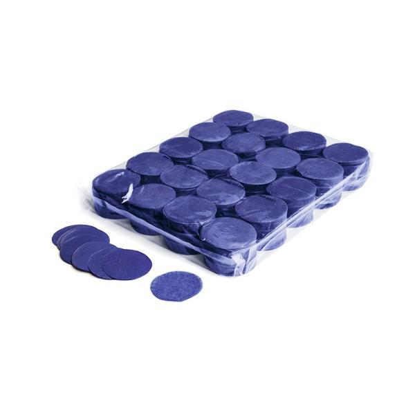 »slowfall« Konfetti Blau, Rund Ø 55mm, 1kg