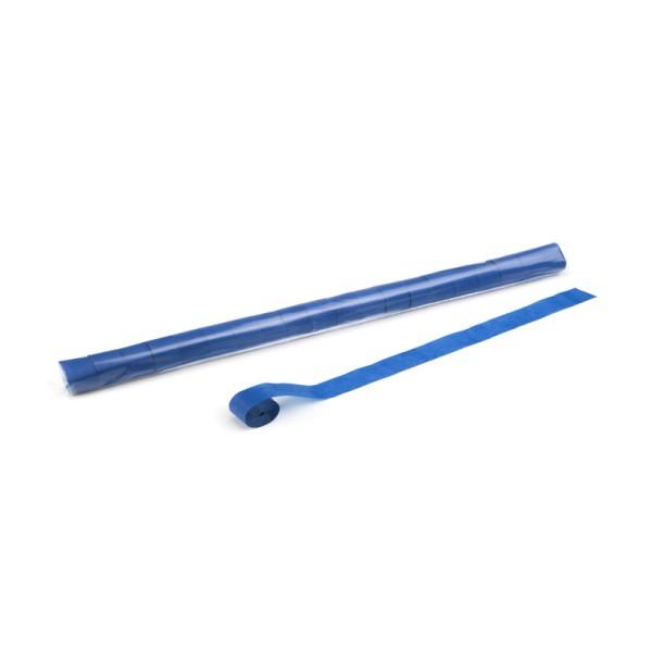 Luftschlangen/Streamer Blau, 25mm, 10m