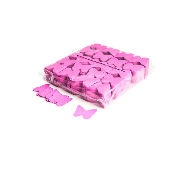 »slowfall« Konfetti Pink, Schmetterling Ø 55mm, 1kg