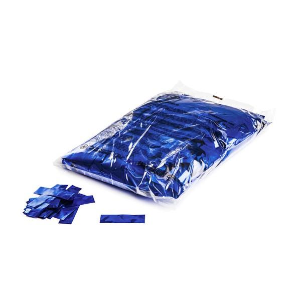 »slowfall« Konfetti Blau (metallic), 55x17mm, 1kg