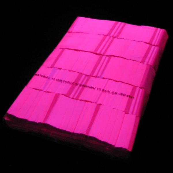 »slowfall« UV Konfetti Neon Pink, 55x17mm, 1kg