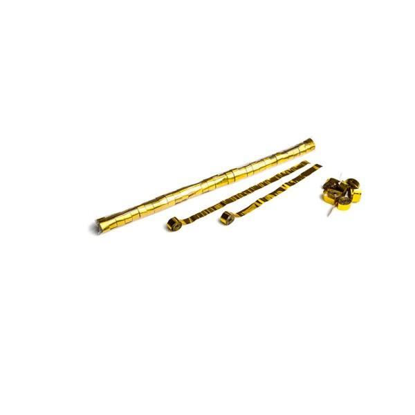 Luftschlangen/Streamer Gold (metallic), 15mm, 10m