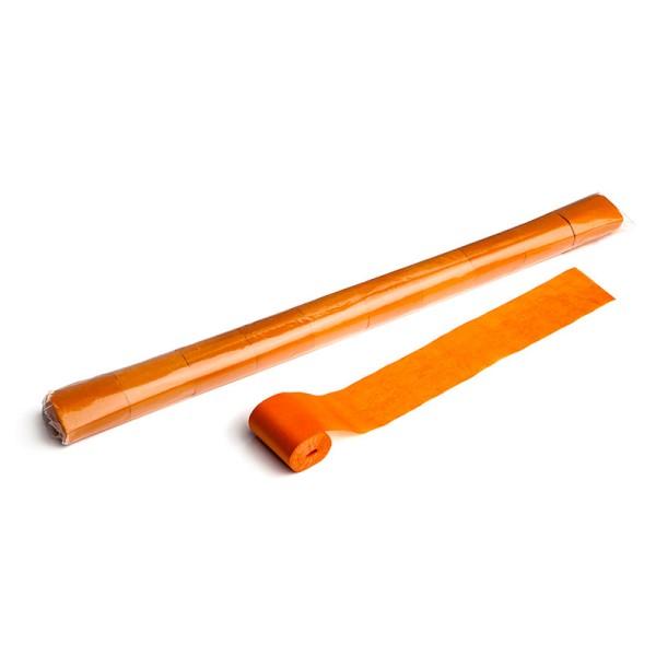 Luftschlangen/Streamer Orange, 50mm, 20m