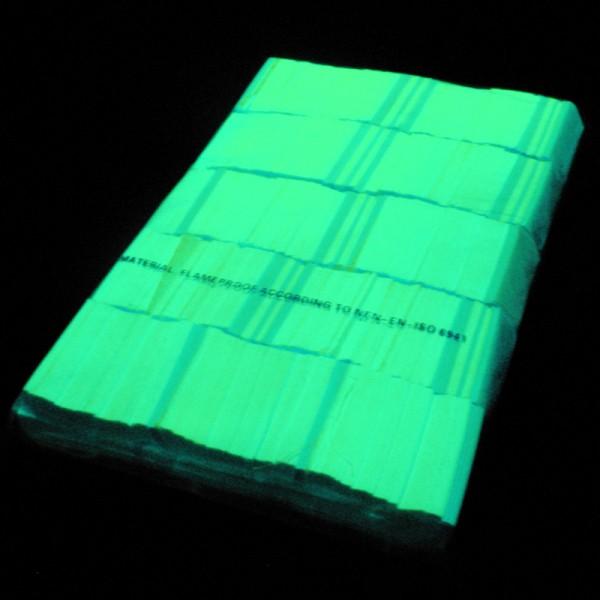 »slowfall« UV Konfetti Neon Gelb, 55x17mm, 1kg