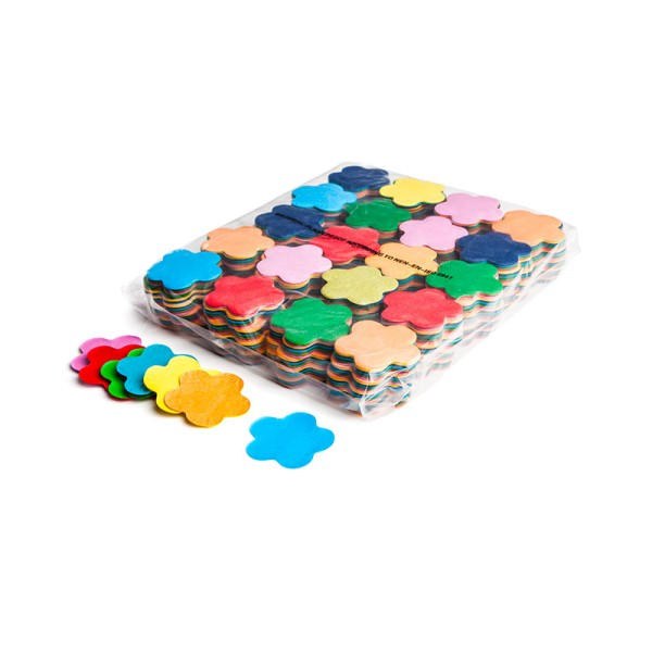 »slowfall« Konfetti Multicolor, Blume Ø 55mm, 1kg