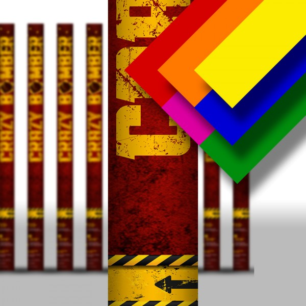 Konfettikanone - Multicolor