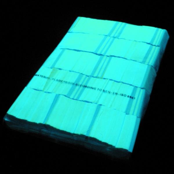 »slowfall« UV Konfetti Neon Grün, 55x17mm, 1kg